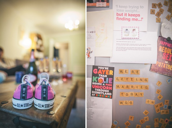 Personalised Converse Pretty Party Pub Informal Wedding http://www.emmalucyphotography.com/