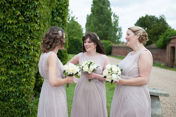 dusky pink bridesmaid dresses DIY Lillibrooke Manor Wedding http://fionasweddingphotography.co.uk/