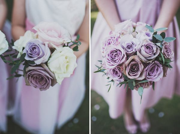 Pink Rose Bouquets Classic Elegant Pink Wedding http://www.annahardy.co.uk/