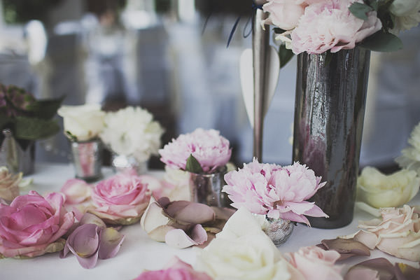Petals Flowers Pink Classic Elegant Pink Wedding http://www.annahardy.co.uk/