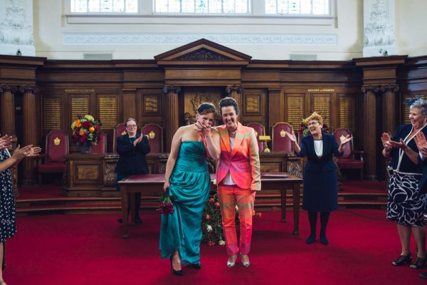Hackney Urban Minimalist Civil Partnership Wedding http://www.babbphoto.com/