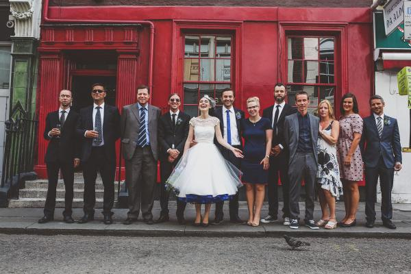 Quirky London City Wedding www.jordannamarston.com/