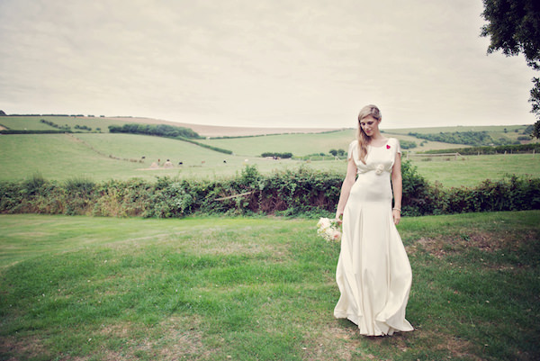 Belle & Bunty Bride Stylish Fun Humanist Wedding http://www.ruby-roux.com/