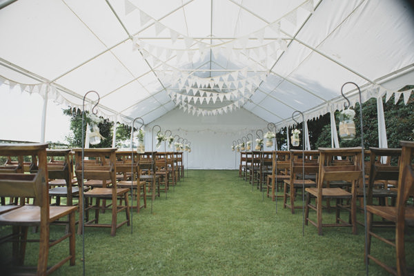 Indie Farm Wedding Ceremony Room http://www.mirrorboxphotography.com/
