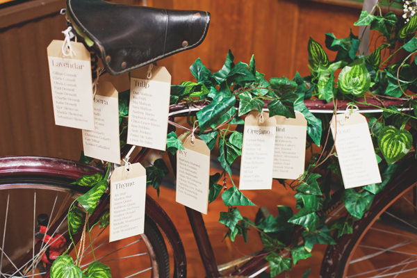 Bicycle Table Plan Crafty Personal Wedding Glasgow http://www.maureendupreez.com/