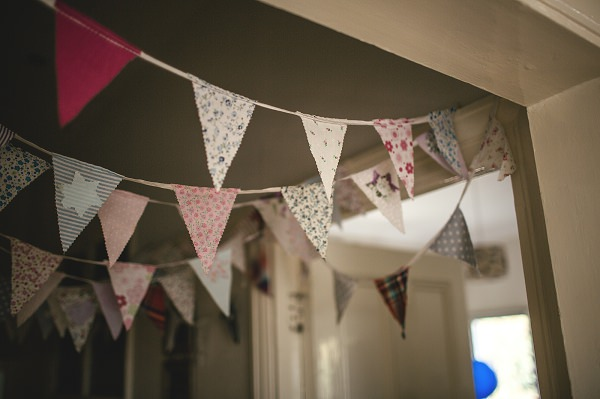 Multicoloured London Quirky Wedding Bunting http://www.kat-hill.com/