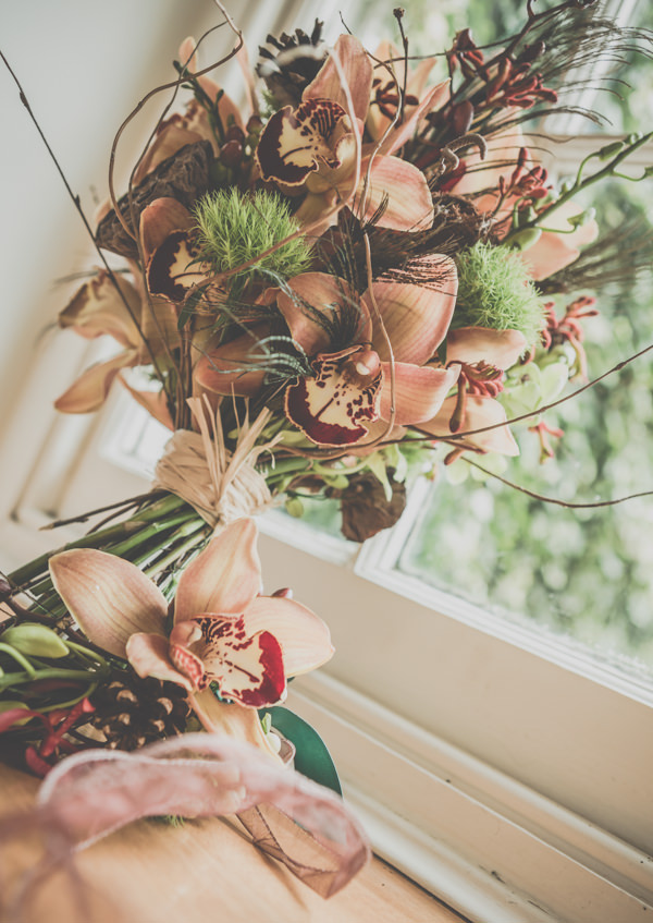 Earthy Cosy Kent Wedding Autumn Bouquet http://www.katehennessyphotography.com/