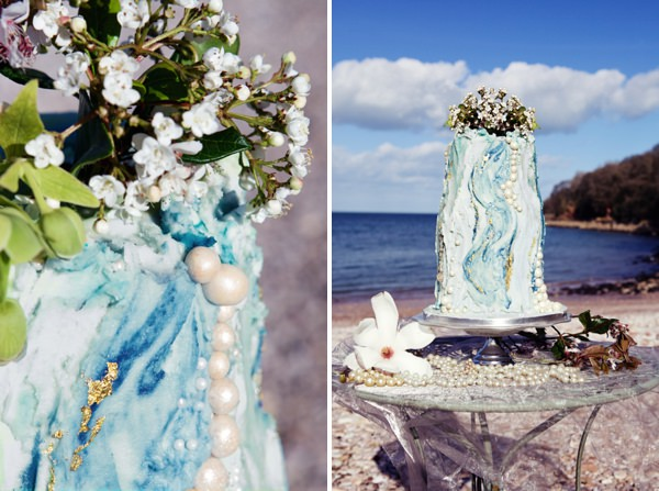 Dreamy Mermaid Wedding Ideas Cake http://elizabetharmitage.com/