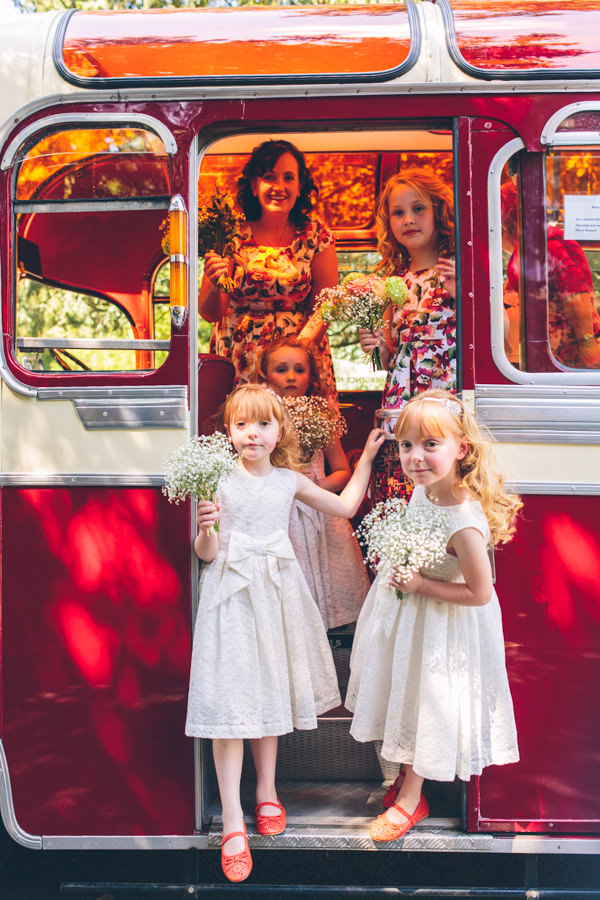 1950s Vintage Floral Hand Made Wedding Flowergirls http://www.andyli-photography.com/