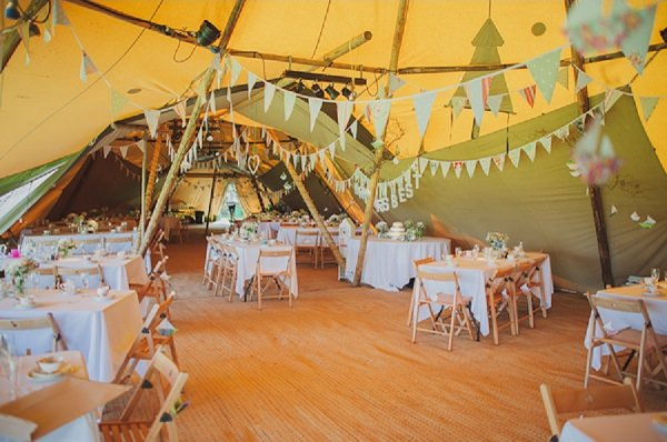 Tipi Wedding Decor Ideas http://www.bigbouquet.co.uk/