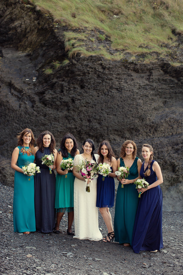 Mismatched Bridesmaids http://www.mariannetaylorphotography.co.uk/