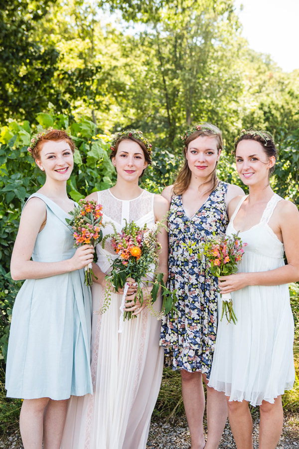 Mismatched Bridesmaids Alternative http://blokesndames.co.uk/blog/