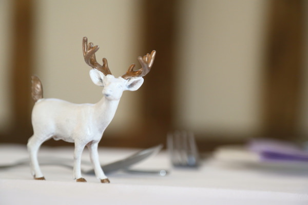 Woodland Animal Barn Wedding Deer Decor http://www.rebeccaprigmorephotography.com/