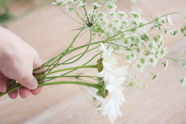 Homegrown DIY Wedding Bridal Bouquet Tutorial 2