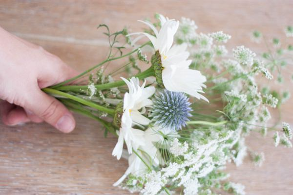 Homegrown DIY Wedding Bridal Bouquet Tutorial 5