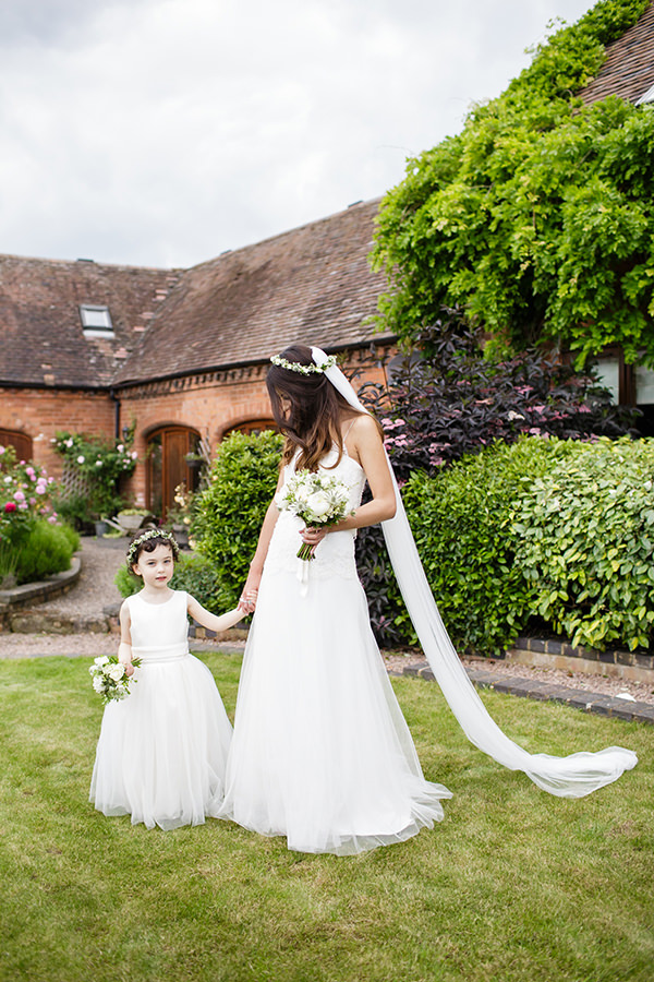 Whimsical Chic Country Wedding Flowergirl http://www.johastingsphotography.co.uk/