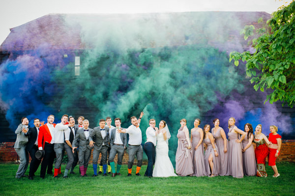 Homespun Retro Colourful Wedding http://www.mariannechua.com/