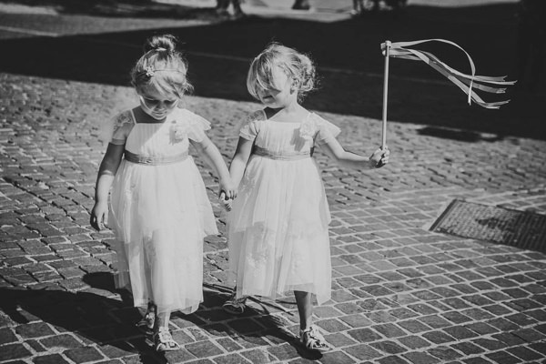 Lake Garda Destination Wedding Flowergirls http://www.carolinepotterphoto.com/