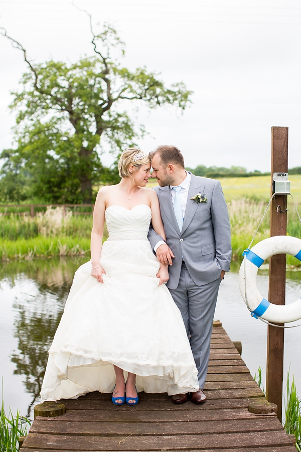 Fresh Fun Relaxed Blue & Green Wedding http://www.katherineashdown.co.uk/