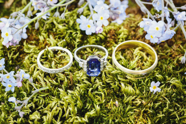 Dinner Party Midsummer Night's Dream Wedding Engagement Wedding Rings http://www.gemmawilliamsphotography.co.uk/