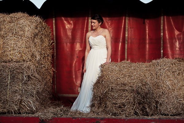 Funfair Farm DIY Wedding Romantica Devon Dress Bride http://www.kathrynedwardsphotography.com/