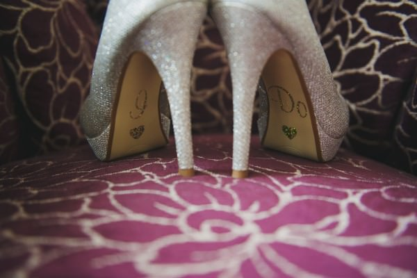I Do Sparkle Glitter Silver Wedding Bride Shoes http://nicolathompsonphotography.co.uk/