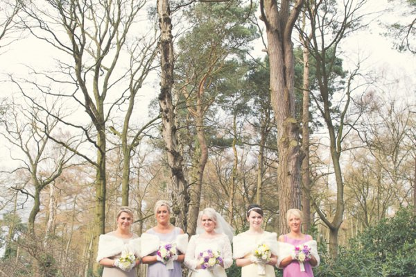 Vintage 1960s Spring Wedding Bridesmaids http://www.flukephotography.co.uk/