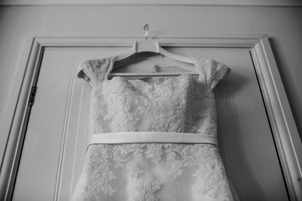 White One for Pronovias Lace Dress Relaxed Rustic Handmade Village Hall Wedding http://www.lolarosephotography.com/