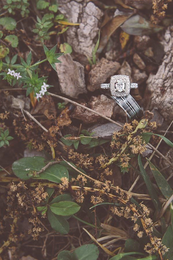 Beautiful Dreamy Texas Wedding Vintage Square Engagement Ring http://www.cassieloreephotography.com/
