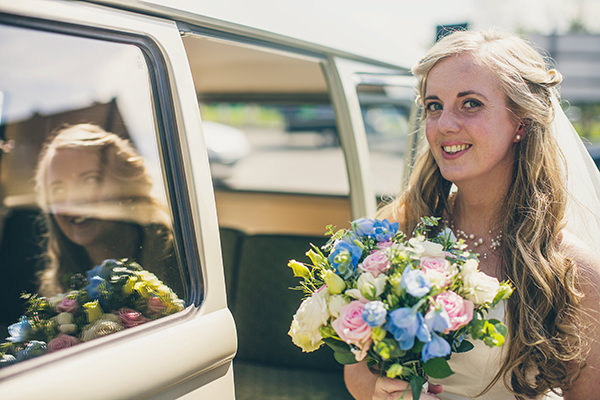 Charming Homemade Blue Wedding Pretty Natural Bride http://www.lifelinephotography.co.uk/