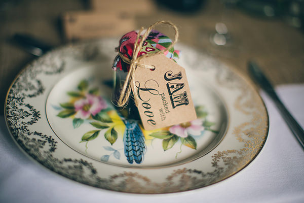 1950s Spring Village Fete Wedding Jam Favours Luggage Tags http://www.lifelinephotography.co.uk/