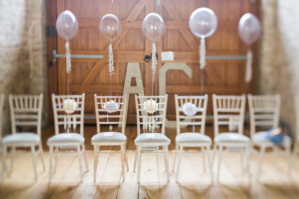 Whimsical Woodland Fairytale Wedding Balloons Chairs http://www.lisadawn.co.uk/