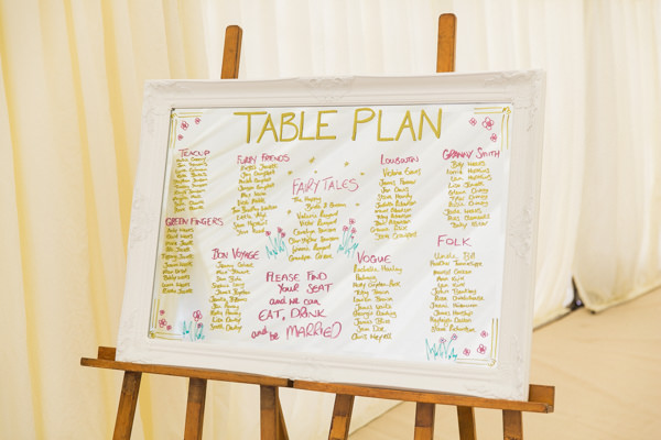 Whimsical Woodland Fairytale Wedding Mirror Table Plan http://www.lisadawn.co.uk/