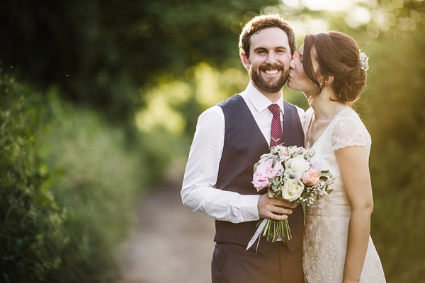 A Suit That Fits Groom Stylish Rustic Barn Wedding http://www.lolarosephotography.com/