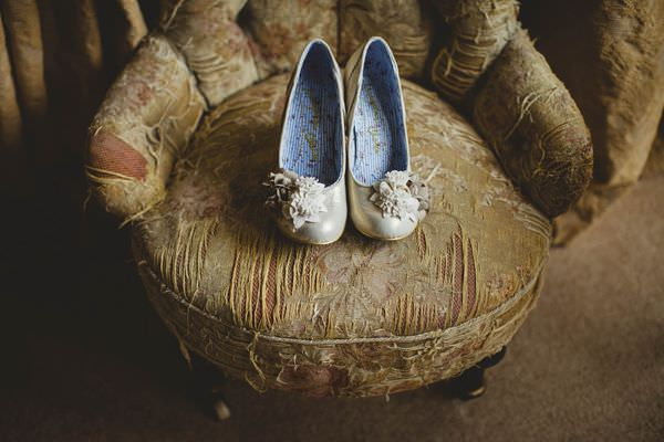 Colourful Homemade Origami Wedding Irregular Choice Shoes http://christophercurrie.co.uk/