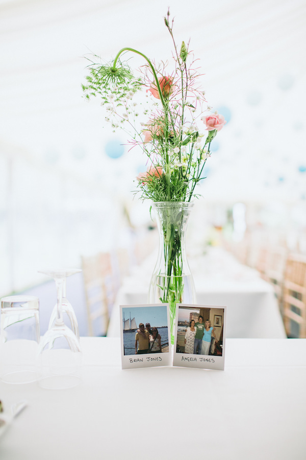 Country Garden Camping Marquee Wedding DIY Flowers http://www.chebirchhayesphotography.com/