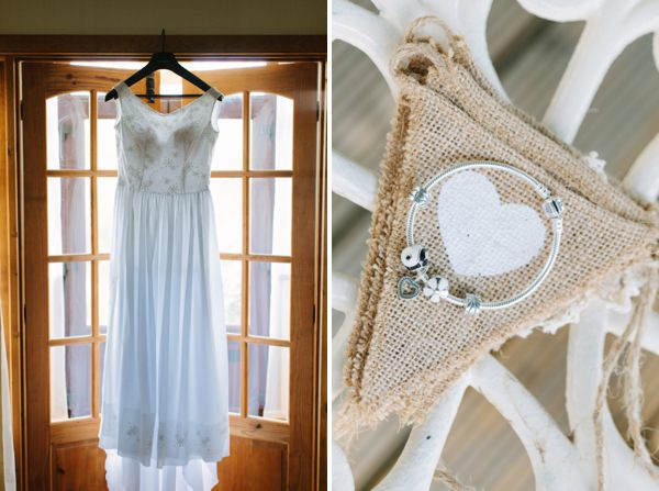 Natural Rustic Daisy Wedding Dress http://www.camillaarnholdphotography.com/
