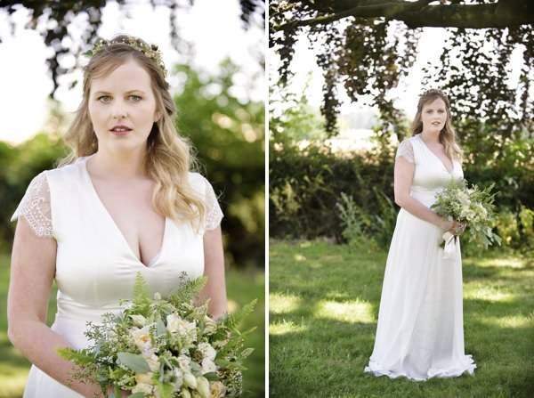 Pretty Natural Bohemian Bridal Bride http://www.careysheffield.com/