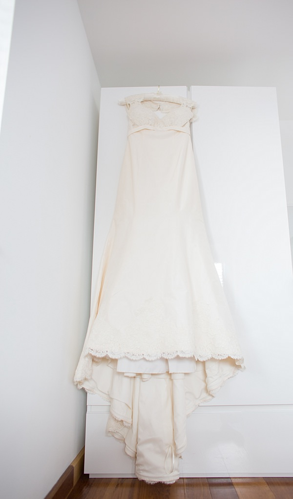 Paloma Blanca Dress Informal Beach Wedding http://www.juliaandyou.com/