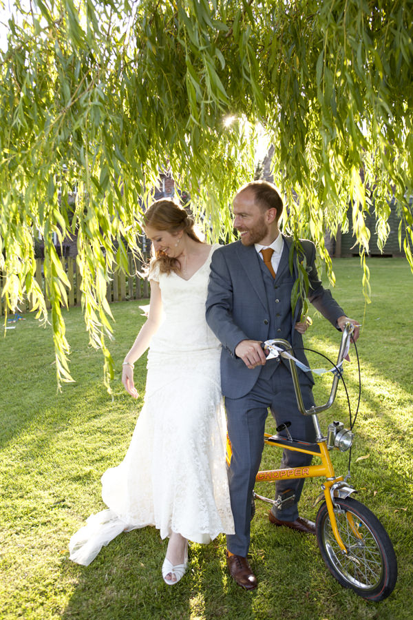 Bicycle Crafty Colourful Country Wedding http://matildarosephotography.com/