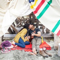 Remote Island Getaway Camping Love Shoot http://www.kellybrownphotographer.com/