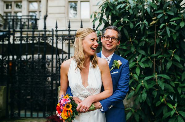 Party London One Whitehall Place Wedding Natural Bride Half Up Half Down Hair http://www.babbphoto.com/