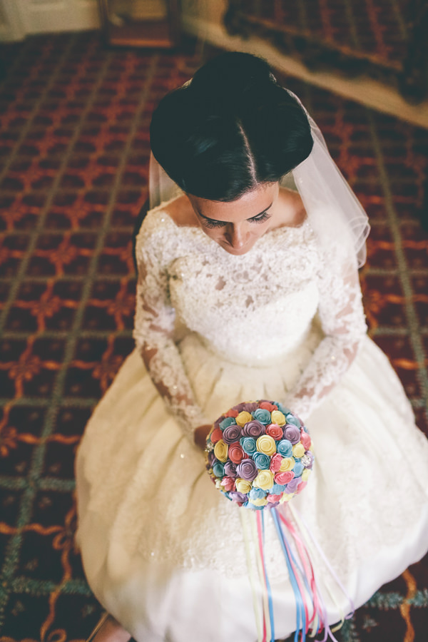 Kitsch Retro Quirky Eccentric Candy Wedding Hair Style Bride Retro Vintage http://www.emmaboileau.co.uk/