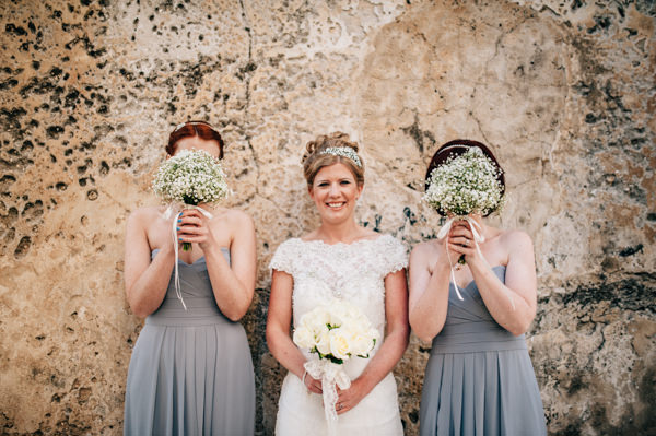 Baby Breath Bouquet Bridesmaid Italy Destination Wedding http://www.andreaellisonphotography.com/