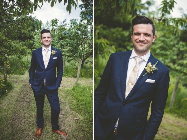 Suited Booted Groom English Eccentric Mix & Match Wedding http://peterreynoldsphotography.com/