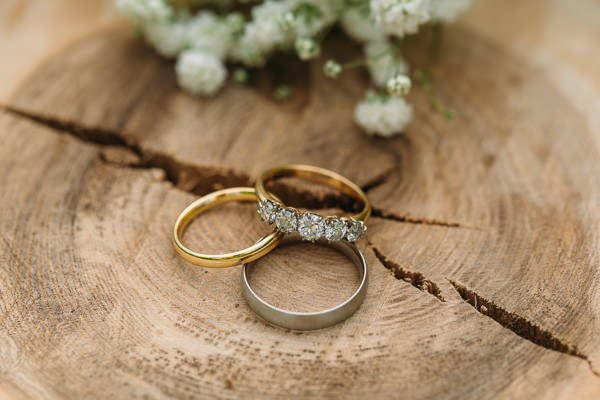 Country Rustic Tipi Wedding Engagement Rings http://www.redonblonde.com/