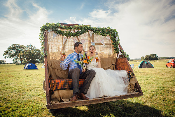 Fun Camping Country Outdoor Wedding http://www.frecklephotography.co.uk/