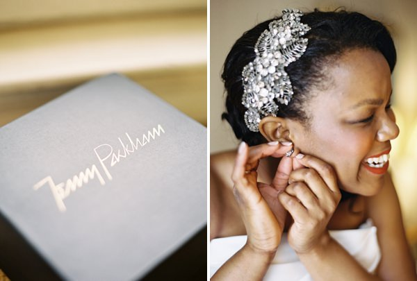 Jenny Packham Accessory Bride Classic Elegant London Wedding http://www.depict-photography.com/