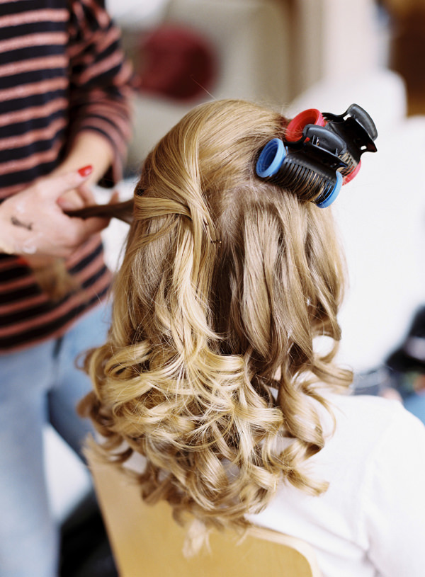 Bride Curls Waves Hair Style Pretty Relaxed Beautiful Traditional Wedding http://www.victoriaphippsphotography.co.uk/