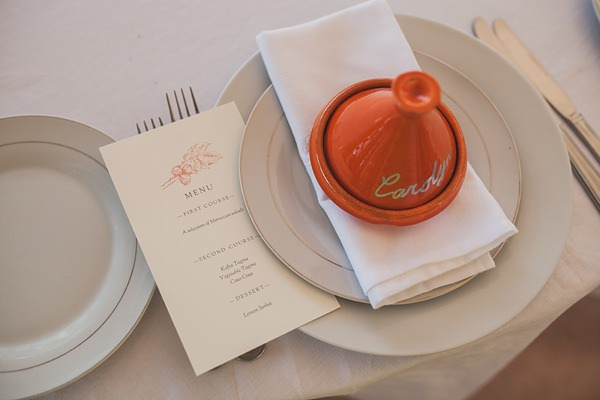Chilled Colourful Marrakech Wedding Tagine Place Name  http://www.sallytphotography.com/